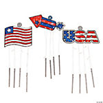Patriotic Suncatcher Wind Chimes