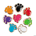 Paw-Shaped Large Hole Beads - 11mm