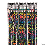 Peace Sign Pencils
