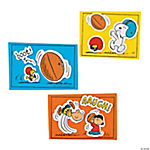 Peanuts® Football Kick Magnet Craft Kit