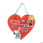 Peanuts® Valentine Sign Craft Kit