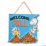 Peanuts® Welcome Fall Sign Craft Kit