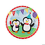 Penguin Party Dinner Plates