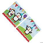Penguin Party Luncheon Napkins