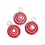 Peppermint Candy Premium Glass Charms