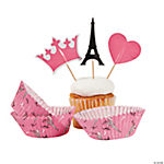 Perfectly Paris Baking Cups with Picks