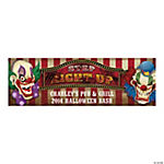 Personalized Big Top Terror Banner