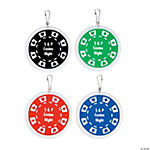 Personalized Casino Night Charms