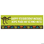 Personalized Dino-Mite Banner - Small