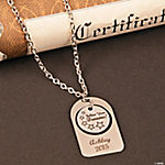 Personalized Follow Your Dreams Necklace