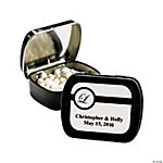 Personalized Formal Wedding Mint Tins