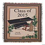 Personalized 2015 Graduation Throw Blanket