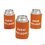 Personalized Orange Can Covers