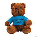 Personalized Plush Ring Bearer Bear with T-Shirt