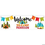 Personalized Small Camp Adventure Banner