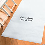 Personalized White Graduation Aisle Runner