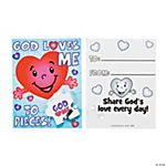 Piece of God's Love Eraser Valentine Cards