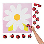Pin the Ladybug on the Flower Game