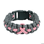 Pink Awareness Ribbon Paracord Bracelets