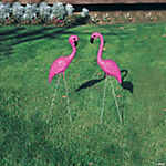 Pink Flamingo Yard Ornaments