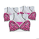 Pink Ribbon Bra-Shaped Gift Bags