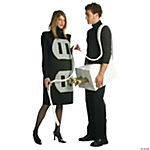 Plug & Socket Couple's Costume