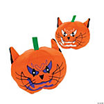 Plush Cat-O'-Lanterns
