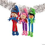 Plush Long Arm Winter Kids