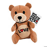 Plush Love Bears with Card