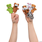 Plush Woodland Animal Finger Puppets