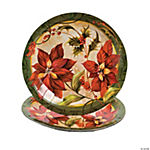 Poinsettia Dinner Plates