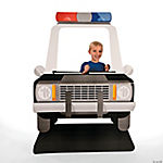 Police Car Photo Stand-Up