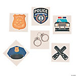Police Party Tattoos