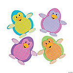 Polka Dot Penguin Magnet Craft Kit