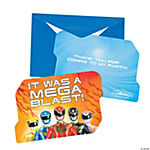 Power Rangers™ Megaforce Thank You Cards