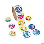 Prayer Roll of Stickers