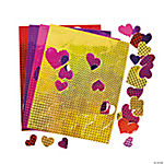 Prism Heart Self-Adhesive Shapes