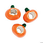 Pumpkin Large Hole Beads