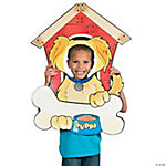 Puppy Party Dog House Photo Frame Prop