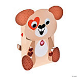 Puppy Valentine Card Holders Craft Kit