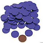 Purple Chocolate Coins