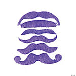 Purple Mustache Assortment