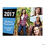 Quadruple Image Custom Photo Invitations