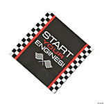 Race Car Checkered Flag Luncheon Napkins