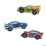 Race Car Suncatchers