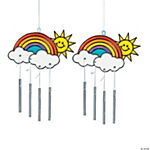 Rainbow Suncatcher Wind Chimes