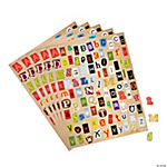 Ransom Note Alphabet Stickers
