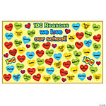 100 Reasons Why I Love School Bulletin Board Set
