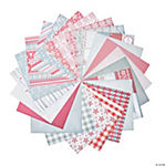 Red & White Christmas Mini Paper Stack