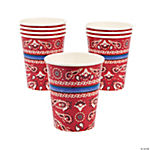 Red Bandana Cups
